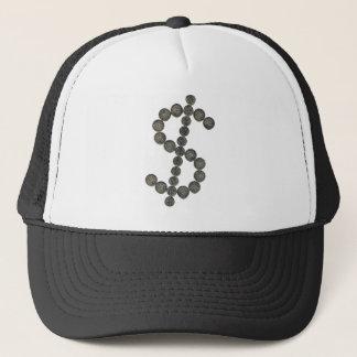 Ein silberner Dollar Truckerkappe