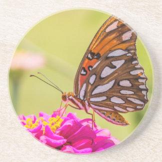 Ein Sommer-Schmetterling Sandstein Untersetzer