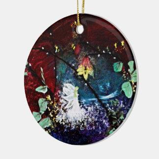 Ein Sommernachtstraum Rundes Keramik Ornament