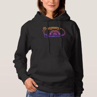 Ein Spaß Hoodie mit dem Wildwood Gasthaus-Logo