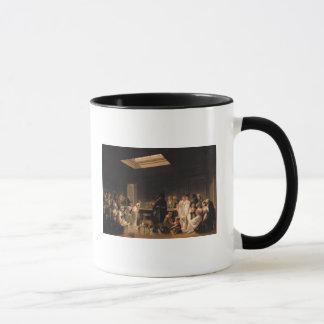 Ein Spiel von Billard, 1807 Tasse