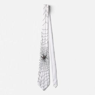 Ein Spinnen-Netz Bedruckte Krawatten