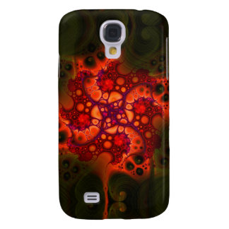 Ein Splotch feenhafter Magie V 2 HTC klarer Fall Galaxy S4 Hülle