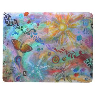 Ein spontaner Tag der Kunst - Explosion! gemischte Taschennotizbuch