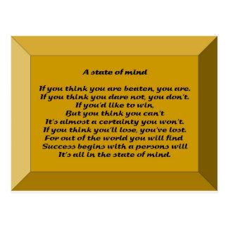 Ein Staat des Verstandes Postkarte