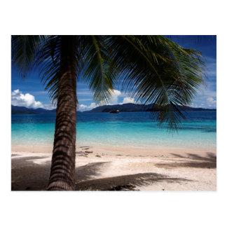 Ein Strand auf KOH Wai Insel in Thailand Postkarte