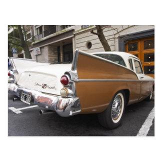 Ein Studebaker silberner Falke-klassisches Auto Postkarte