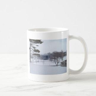 Ein Syrakus-Winter Kaffeetasse