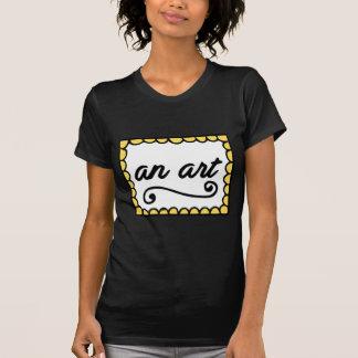 Ein T - Shirt der Kunst-Frauen