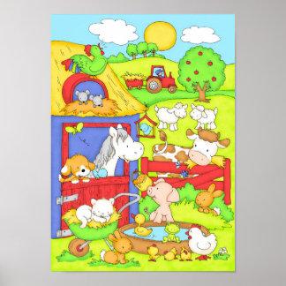 Ein Tag am Bauernhof Poster