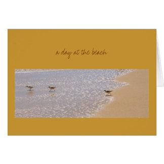 Ein Tag am Strand Karte
