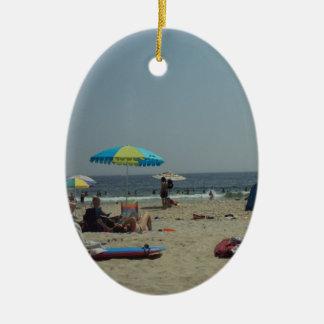 Ein Tag am Strand Keramik Ornament