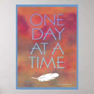 Ein Tagesauf einmal Plakat