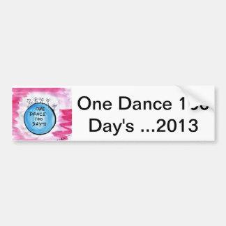 Ein Tanz 2013 100 Tages… Autoaufkleber