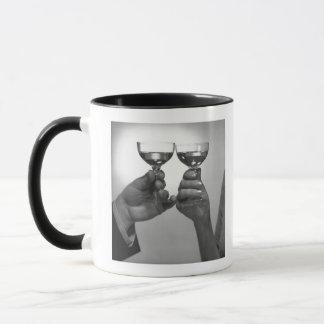 Ein Toast Tasse