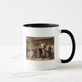 Ein Toast zu den verlobten Paaren Tasse