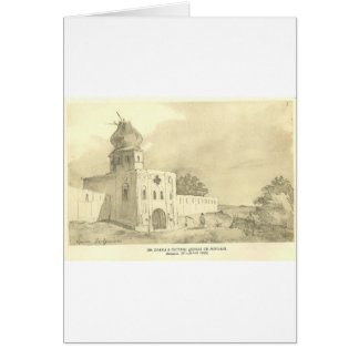 Ein Tor in Gustynia. Kirche von Sankt Nikolaus Karte