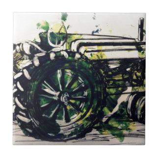 Ein Traktor! Keramikfliese
