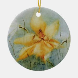 Ein Traum Rundes Keramik Ornament