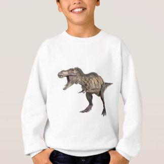 Ein Tyrannosaurus Rex, der recht stehend und Sweatshirt