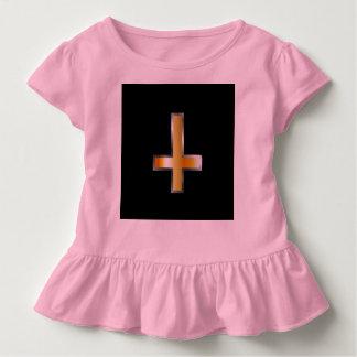 Ein umgekehrtes Kreuz das Kreuz von St Peter Kleinkind T-shirt
