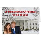 Ein ungeheures Weihnachten von Donald und von Karte