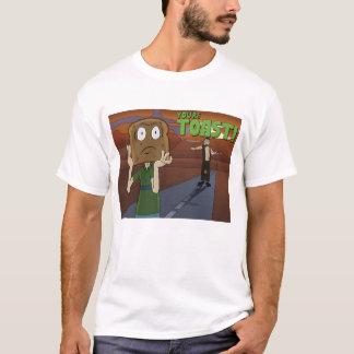 Ein unglaublich witzig Shirt mit einem Mann mit