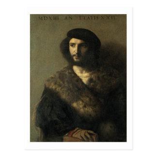 Ein ungültiges, c.1514 (Öl auf Leinwand) Postkarte