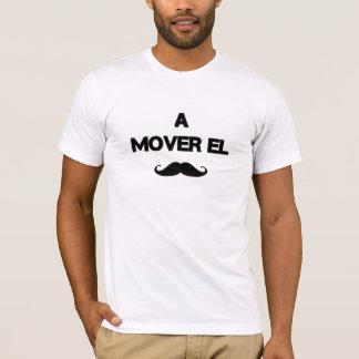 Ein Urheber-EL bigote T-Shirt