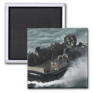 Ein US-Marine-Landungsboot-Luftpolster Quadratischer Magnet