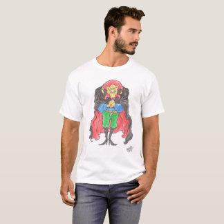 Ein Vampir auf einem T-Shirt