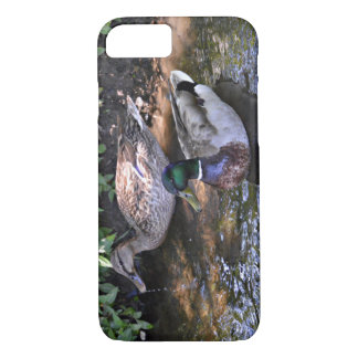 Ein verbundenes Paar Stockenten-Enten iPhone 8/7 Hülle
