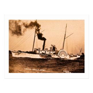 Ein von Uncle Sam Louis Pesha Vintage Great Lakes Postkarte