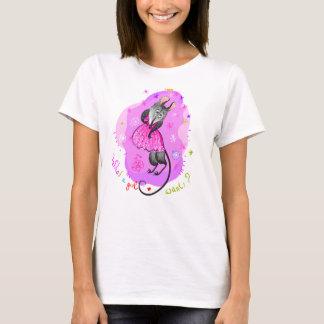 Ein was für Mädchen will T-Shirt