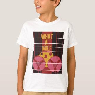 Ein was für milf - lustiger Rekordspieler T-Shirt