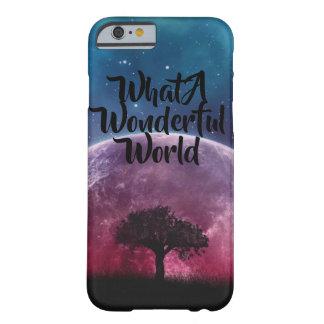 Ein was für wunderbarer Weltgalaxiebaum Barely There iPhone 6 Hülle