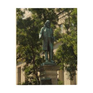 Ein Washington-Monument Holzdruck