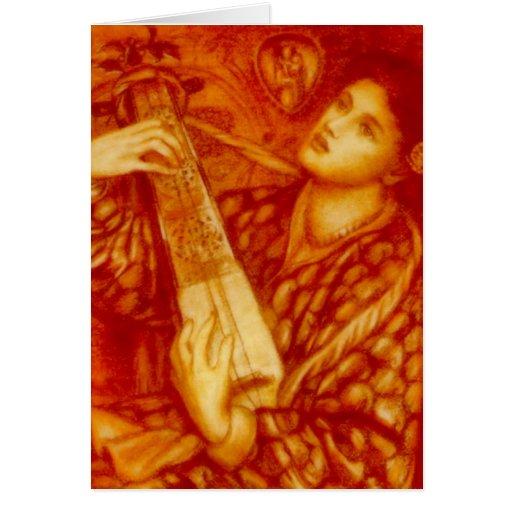 Ein Weihnachten Carol durch Rossetti Karte