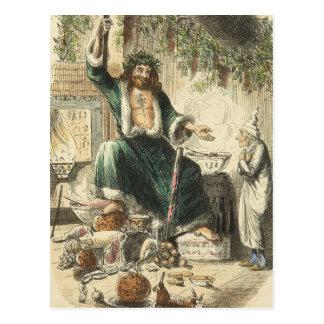 Ein Weihnachten Carol: Scrooges dritter Besucher Postkarte