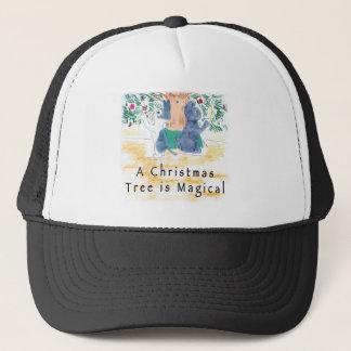 Ein Weihnachtsbaum ist magisch Truckerkappe