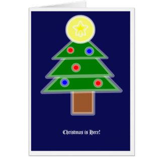 Ein Weihnachtsgedicht Grußkarte