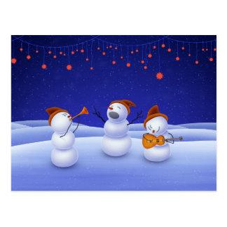 Ein Weihnachtslied Postkarte