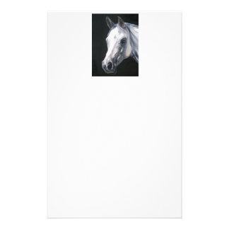 Ein weißes Pferd Briefpapier