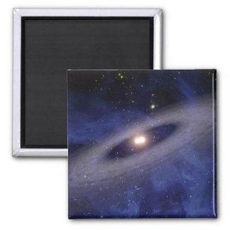 Ein weit entferntes Sonnensystem Quadratischer Magnet