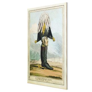 Ein Wellington-Stiefel - oder der Kopf des Armye, Leinwanddrucke