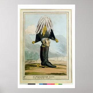 Ein Wellington-Stiefel - oder der Kopf des Armye, Poster