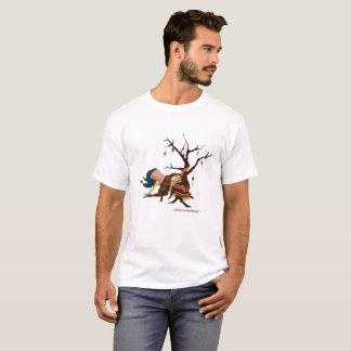 """""""Ein wenig tragbarer Weihnachtsbaum-"""" weißer T - T-Shirt"""