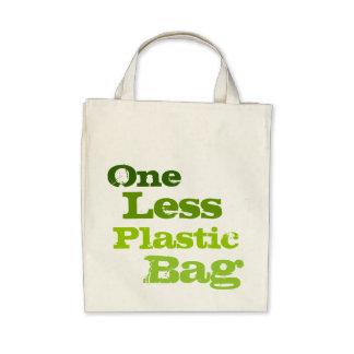 Ein weniger Plastiktasche