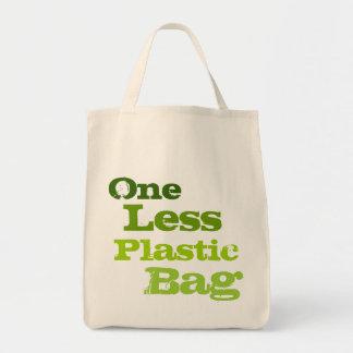 Ein weniger Plastiktasche Einkaufstasche