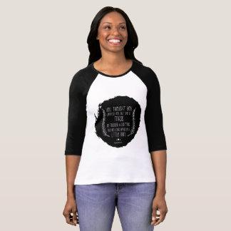Ein weniger Regen durch Poesie-Wecker-Shirt Rachel T-Shirt